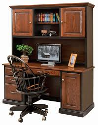 Desk With Hutch Cheap Home Office Furniture Amish Custom Furniture