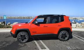 trailhawk jeep 2016 jeep renegade trailhawk 4x4 road test review by ben lewis