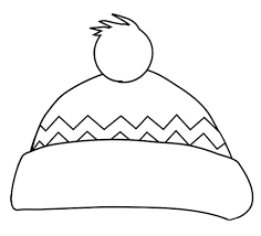 hat coloring free download