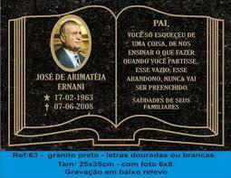 Famosos Placas para cemiterio,tumulos e jazigos em Curitiba - Outros | 166443 @LG28