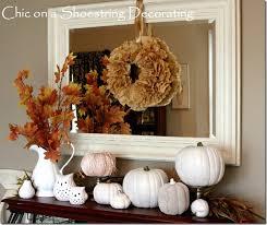 remodelaholic thanksgiving mantel decor ideas