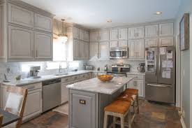 pictures of kitchen cabinets painted grey grey painted cabinets houzz