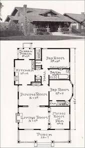 Craftsman Bungalow House Plans Edwardian Floor Plan 1st Floor 1905 Click Through For The