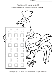 addition one digit addition worksheets free free math