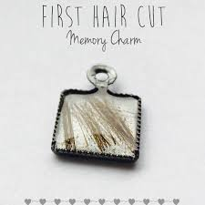 keepsake charms hair cut memory charms remember your child s haircut