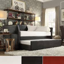 Leather Daybed With Trundle 180 Best Day Beds Images On Pinterest Daybeds Headboards And 3