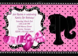 Barbie Invitation Card Vintage Barbie Silhouette Clip Art 45