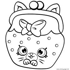 petkins cat snout petkins shopkins coloring pages printable
