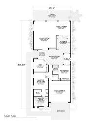 luxurious one story two car garage home floor plan 2190 9528