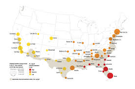 Map Of Arizona Cities Potential Zika Virus Risk Estimated For 50 U S Cities Ucar