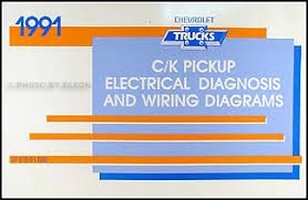 1991 chevy c k pickup wiring diagram manual original