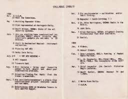 syllabus 1988 89 northern heights ars archive