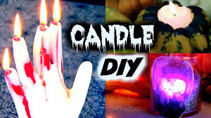 halloween candlestick holders diy hand candle halloween candle holders how to youtube