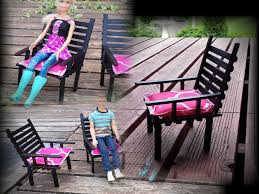 how to make a doll patio chair youtube