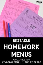 kinder writing paper 178 best writing images on pinterest writing ideas teaching homework menus have saved me so much time in my classroom these menus are completely