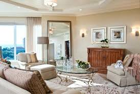 How Much Does A Bathroom Mirror Cost by Wall Mirror Modern Two Story Foyer With A Crystal Chandelier
