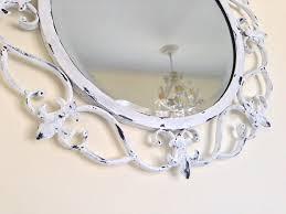 shabby chic round mirror white shabby shabby chic and round mirrors