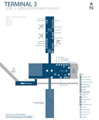 Dallas Terminal Map by Phoenix Airport Terminal 3 Map