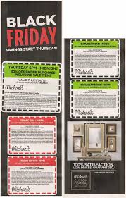 black friday store coupons michael u0027s black friday ads sales and deals 2016 2017 couponshy com