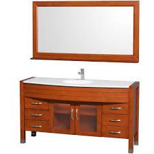 wyndham collection daytona 60 inch single bathroom vanity in