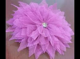 tulle flowers how to make beautiful tulle flower