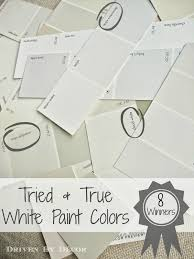 picking a white paint color 8 proven winners driven by decor