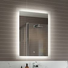 Designer Bathroom Mirrors Unique Bathroom Mirrors With Lights And Demister