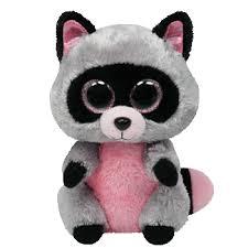 beanie boos rocco raccoon small 36727 ty