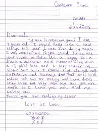 royal mail reveal some of the letters sent by children to father