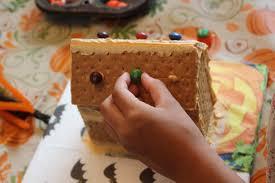diy graham cracker haunted houses homemade food junkie