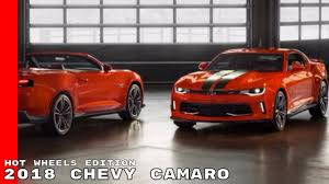 matchbox chevy camaro 2018 chevy camaro wheels 50th anniversary edition youtube