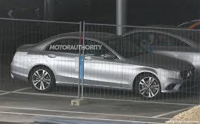 luxury mercedes benz 2019 mercedes benz c class spy shots