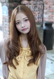 waivy korean hair style korean long wavy hairstyle