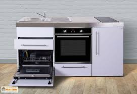 cuisine mini mini cuisine avec frigo l v four et induction mpbgs 170 stengel