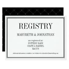 custom wedding registry simple and wedding registry card weddinginvitations