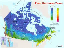 Zone Map Canada Plant Hardiness Zone Map