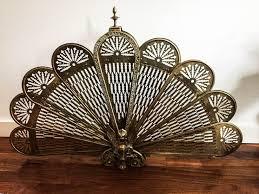 peacock fireplace screen binhminh decoration