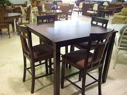 square pub table with storage square pub table set gallery table decoration ideas
