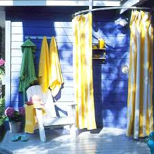 Outdoor Shower Curtains Removable Outdoor Shower Curtain Rod Outdoor Designs