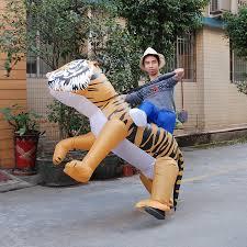 Safari Halloween Costume Shop Halloween Costume Women Inflatable Tiger Costume