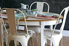 metal kitchen furniture white metal farmhouse style chairs for the kitchen thrift store and