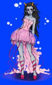 jellyfish dress jellyfish dress feferi by colourlessvalor on deviantart
