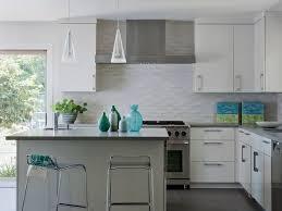 Best Subway Tile Backsplash Ideas Images On Pinterest - Kitchen tile backsplash ideas with white cabinets
