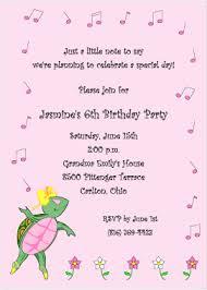6th birthday invitation wording marialonghi com