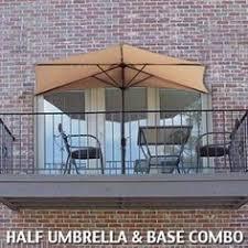 Half Umbrella For Patio Half Patio Umbrella Cool Products Pinterest Patio Umbrellas