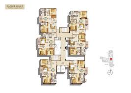 typical floor plan salarpuria sattva navaratna floor plans for 2 3 bedroom