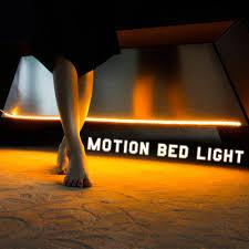 motion sensor activated night light with timer led strip lighting