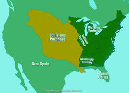 Map Of The Louisiana Purchase by Lesson 3 01 Federalism