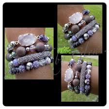 bead bracelet set images 22 best beaded bracelets stacked bracelets arm candy handmade jpg