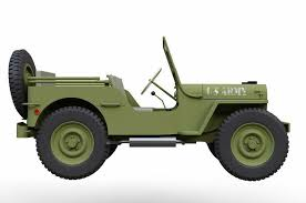 jeep us 3d model us army jeep cgtrader